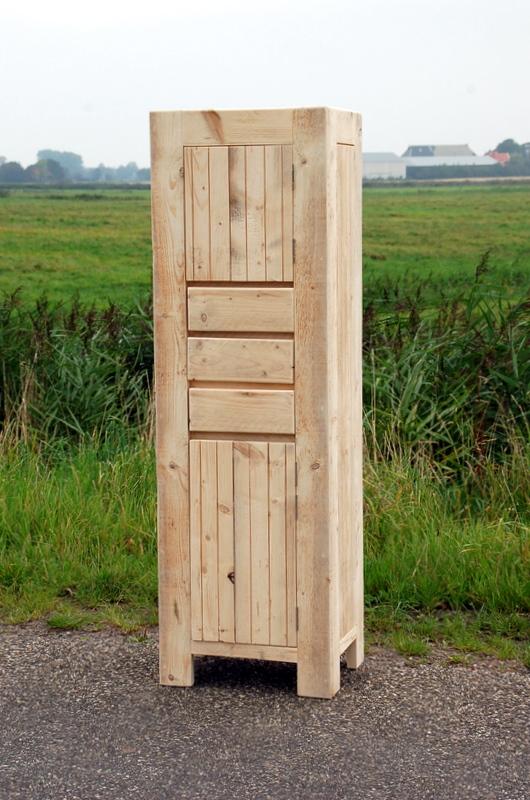 Bauholz Badezimmerschrank Lenne