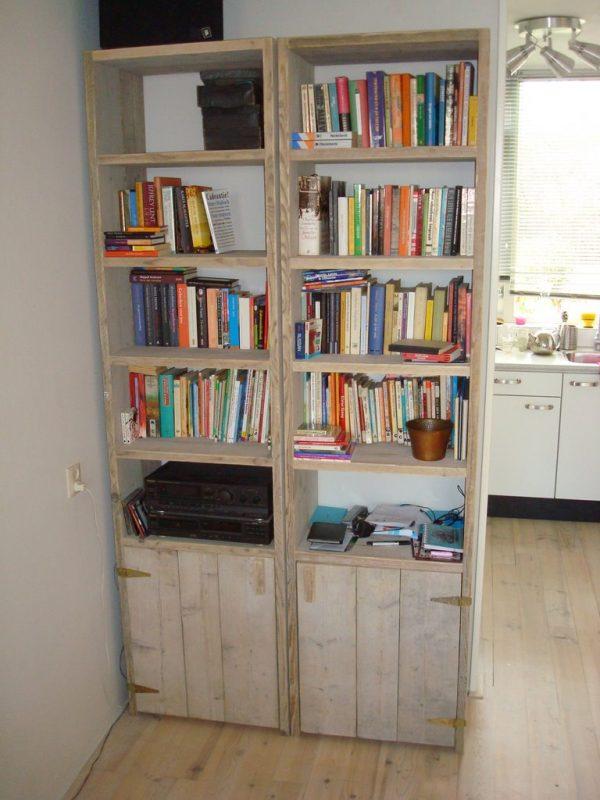 Bücherregal Barkenbusch mit tür1