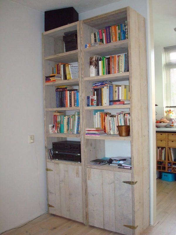 Bücherregal Barkenbusch mit tür2